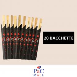 BACCHETTE IN BAMBÙ 20 PAIA...